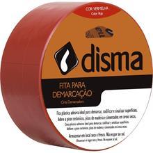 Imagem - Fita Isolante 19mm x 10m Vermelha Disma - 3457