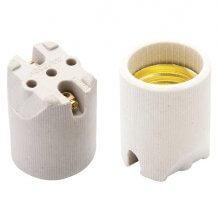 Imagem - Bocal de Porcelana E27  4A/250V Liso Spot Brasfort - 4003