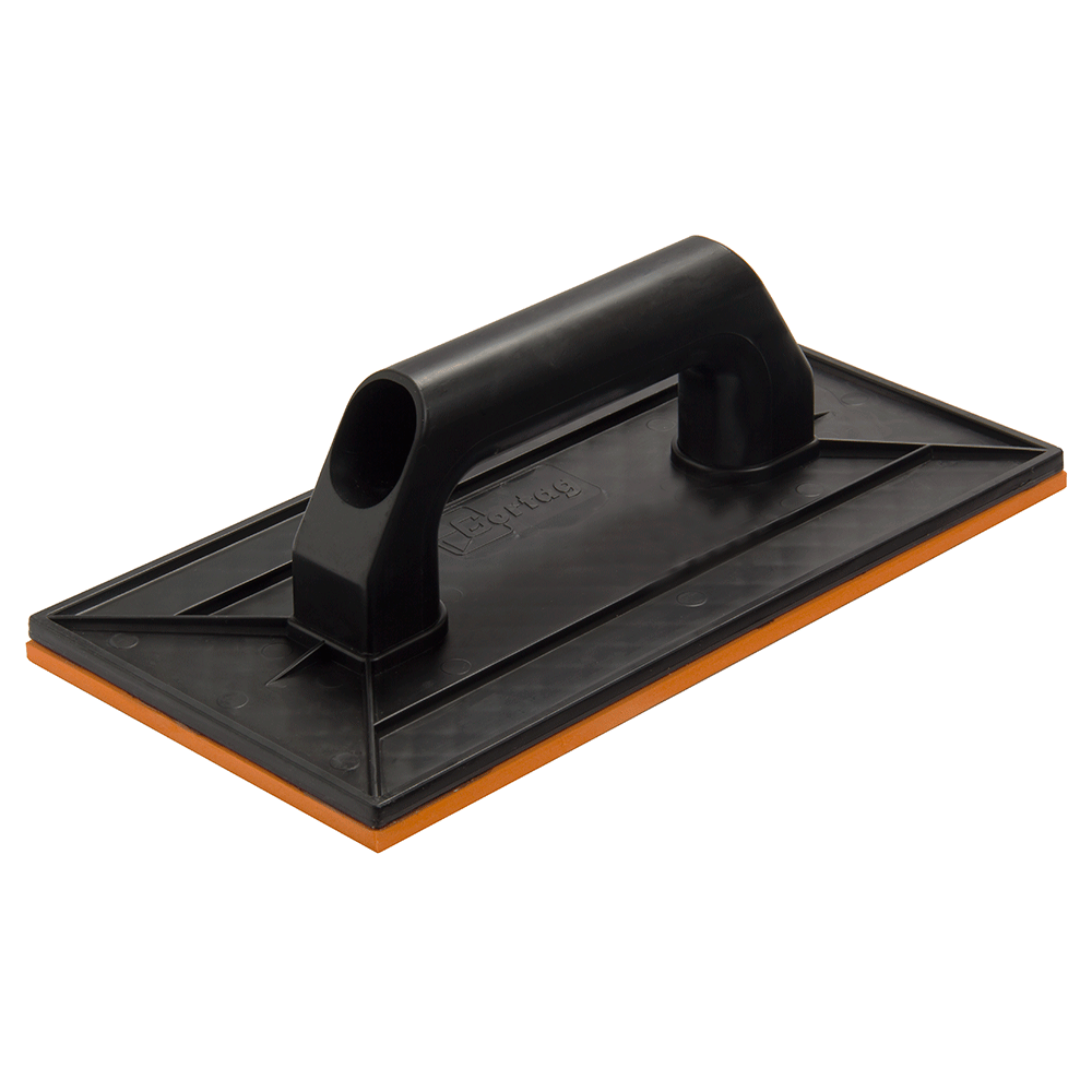 Imagem - Desempenadeira Plástica 14 x 27 cm com Borracha Cortag - 10431