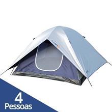 Imagem - Barraca Camping Impermeável Luna 4 Pessoas - 9319