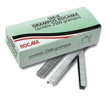 Imagem - Grampo Polido 106/6mm Para Grampeador Caixa com 3500 Peças Rocama - 5118