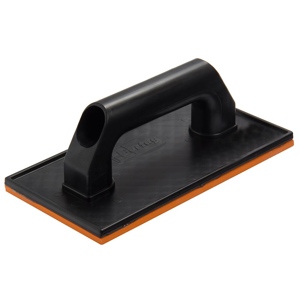 Imagem - Desempenadeira Plástica 12 x 23 cm com Borracha Cortag - 10429