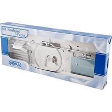Imagem - Kit Acessórios para Banheiro 5 Peças Aço Cromado Giosul - 6610