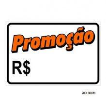 Imagem - Placa Sinalização Promoção 20 x 30cm - Pacific - 7434