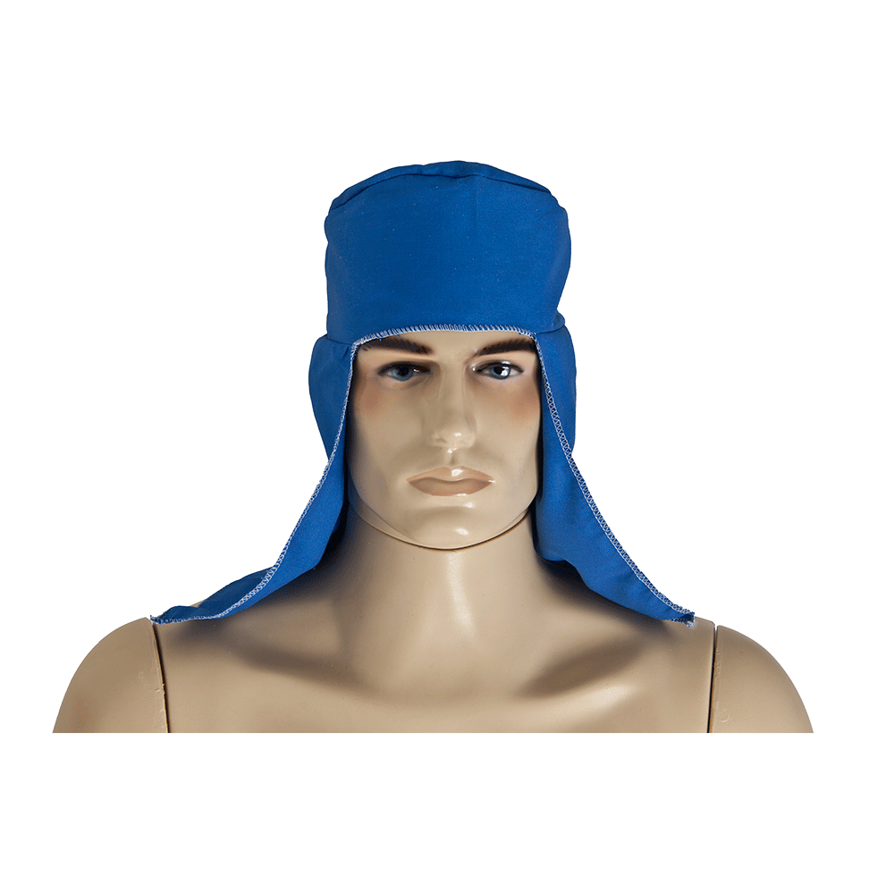 Imagem - Touca de Soldador Azul Royal Deltaplus - 9660-1