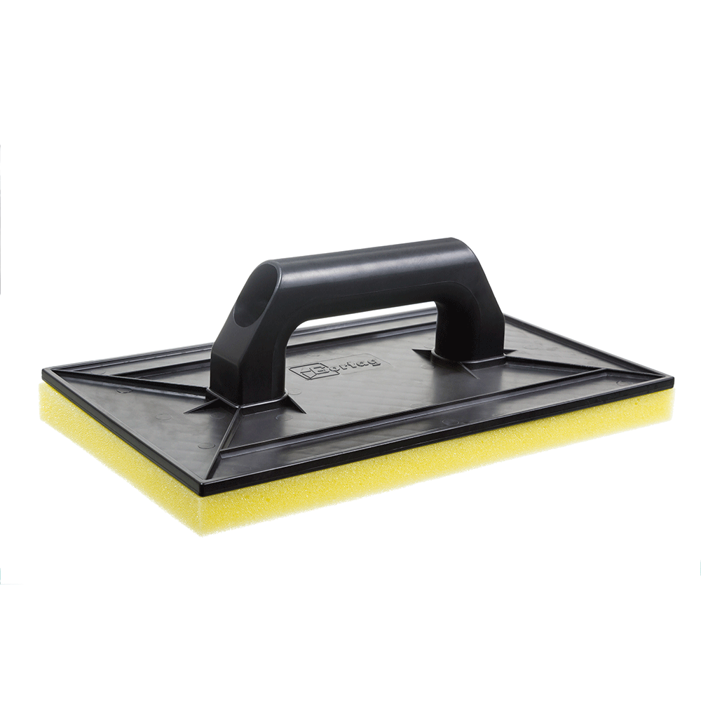 Imagem - Desempenadeira Plástica 18 x 30 cm com Espuma Cortag - 10435
