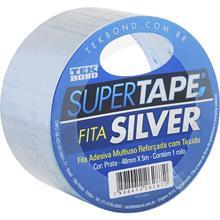 Imagem - Fita Adesiva Silver Tape Prata 48mm x 5m Tekbond - 8598