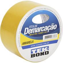 Imagem - Fita de Demarcação Amarela 48mm x 15m Tekbond - 9187