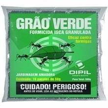 Imagem - Formicida Granulado Grão Verde (10 Sachets De 50g ) Dipil - 4655