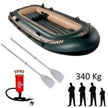 Imagem - Bote Inflável Barco Fishman 3,05m com Remo e Inflador Mor - 9629