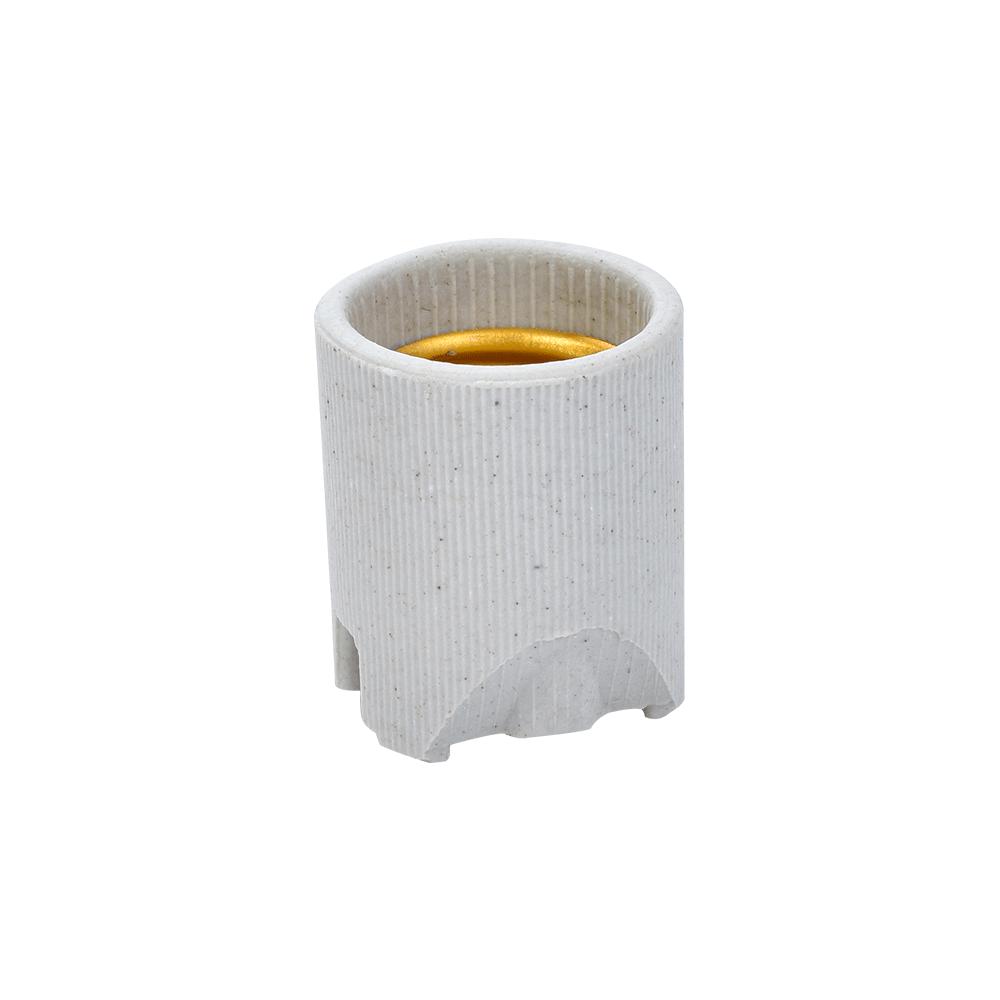 Imagem - Soquete Receptáculo de Porcelana E-27 Fertak - 10700