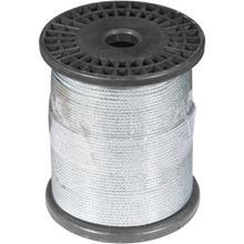 Imagem - Cabo de Aço Plastificado, Alma de Fibra, 2,38 mm 3/32