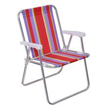 Imagem - Cadeira De Praia / Piscina Alta De Alumínio - 5400