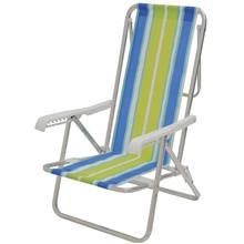 Imagem - Cadeira Praia de Alumínio Reclinável 8 Posições Mor - 5577