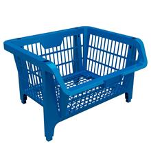 Imagem - Cesto Plástico Expositor Prático Azul Presto - 9410