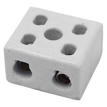 Imagem - Isolador Conector Bipolar Em Porcelana 10mm 10A-250V - 9696