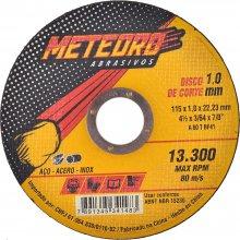 Imagem - Disco de Corte 4.1/2 Pol. Aço e Inox Extra Fino Meteoro - 11273