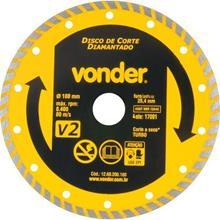Imagem - Disco Diamantado 180mm V2 Vonder  - 9347