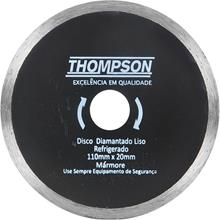 Imagem - Disco Diamantado Continuo Liso 110 x 20mm Thompson - 7115