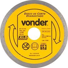 Imagem - Disco Diamantado 110mm para Porcelanato Vonder - 8338