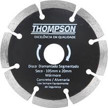 Imagem - Disco Diamantado Segmentado 105 x 20mm Thompson  - 7116