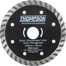 Imagem - Disco Diamantado Turbo 110 x 20mm Thompson  - 7117