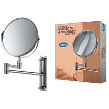 Imagem - Espelho de Aumento Articulado Dupla Face  - 9675