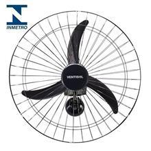 Imagem - Ventilador de Parede 60cm, 200W, Bivolt Preto Ventisol - 7995