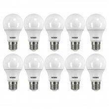 Imagem - Kit 10 Lâmpadas LED 6500K 9,0W TKL60 100-240v E-27 Taschibra - 8658-10