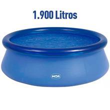 Imagem - Piscina Redonda 1.900 Litros Inflável Splash Fun Mor - 7345
