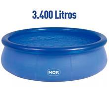 Imagem - Piscina Redonda 3.400 Litros Inflável Splash Fun Mor - 7346