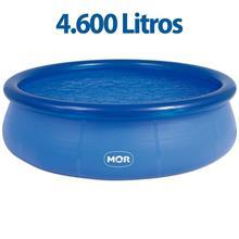 Imagem - Piscina Redonda 4.600 Litros Inflável Splash Fun Mor - 5893