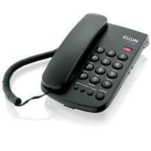 Imagem - Telefone com fio TCF 2000, Preto Elgin - 11028