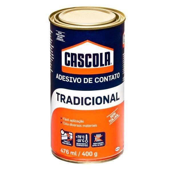 Adesivo de Contato 400g/476ml Tradicional Sem Toluol Cascola