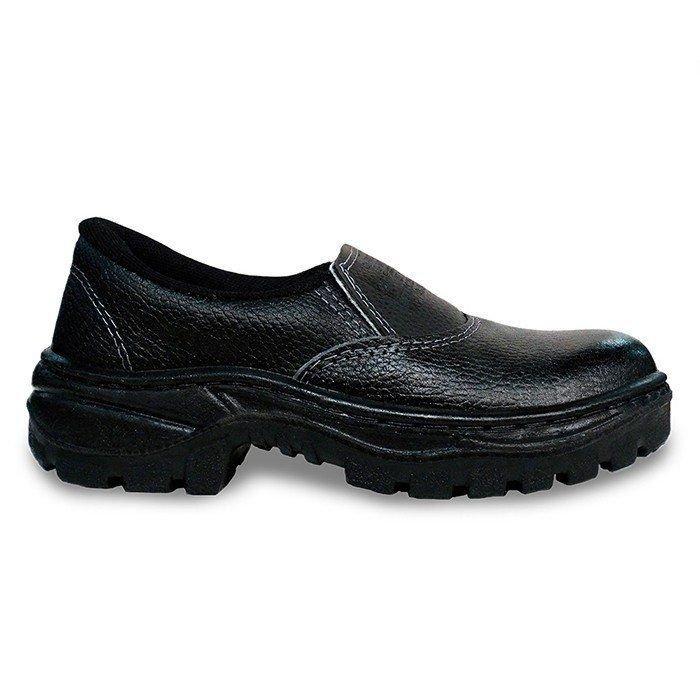 Sapato Segurança Cartom R16 Pu Monodensidade Elástico
