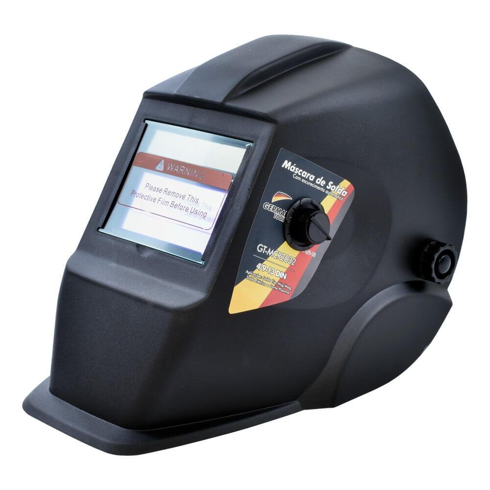 0bcac48688d3e Máscara de Solda Automática com Regulagem GT-MCR German Tools, com o ...