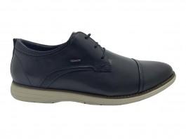 Imagem - Sapato Masculino Ferracini Casual Trindade Chumbo cód: 6120-13-33