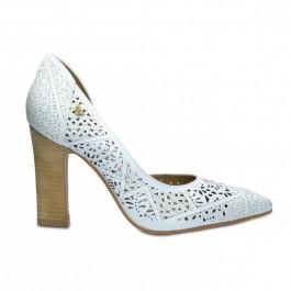 Imagem - Sapato Feminino Verofatto Lasercut Branco cód: 6014722-313-6