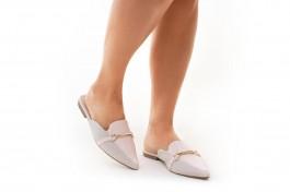 Imagem - Mule Feminino Sua Cia White/Rosa Ballet