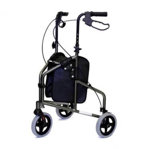 Andador Inspire 3 Rodas Prata - Mobil