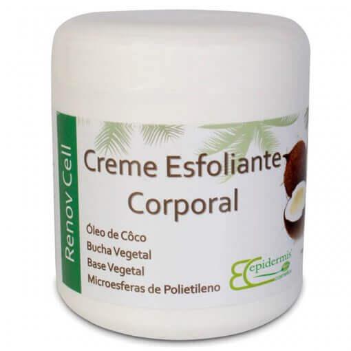 Creme Esfoliante Corporal - 500G - Epidermis