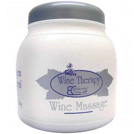 Creme Massagem Corporal - Wine Massage, Gourmeterapia 1Kg - Epidermis