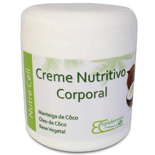 Creme Nutritivo Corporal - Nutre Cell 500G - Epidermis