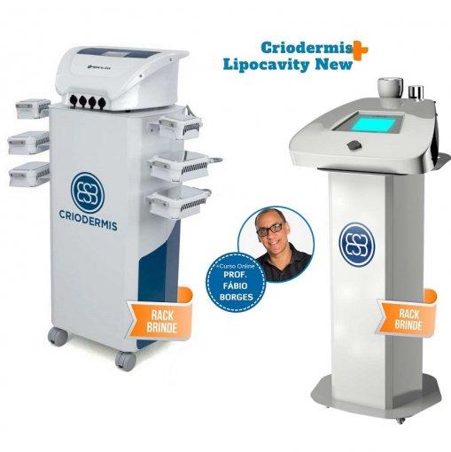 Criodermis e Lipocavity New - Combo Criocavity Medical San