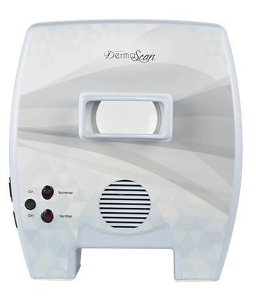Derma Scan - Emissor de Luz de Wood para Avaliação e Análise Da Pele - ESTEK