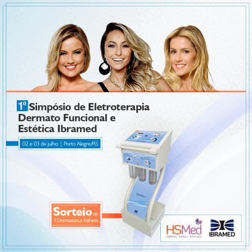 Inscrições Encerradas- I Simpósio de Eletroterapia Dermato Funcional e Estética Ibramed em Porto Alegre/RS