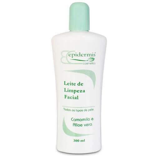 Leite De Limpeza - Camomila E Aloe Vera 300Ml -  Epidermis