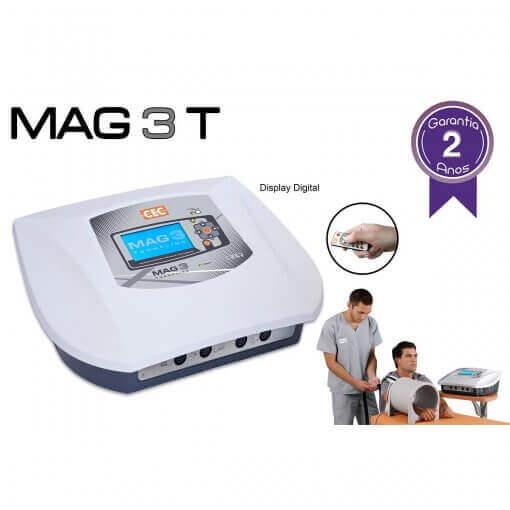 Mag 3 T CECBRA Aparelho de Magnetoterapia de Baixa Frequência