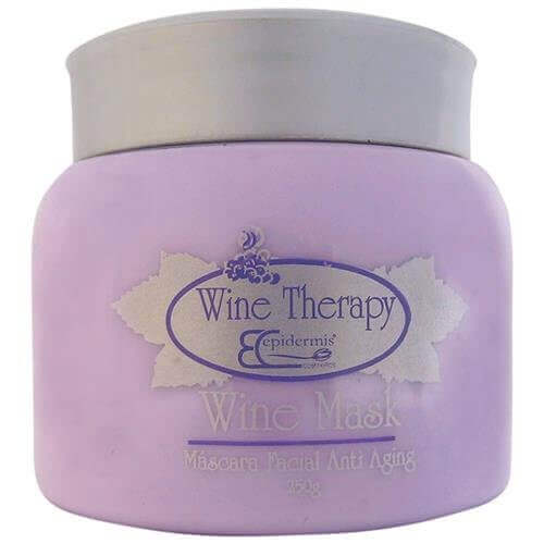 Máscara Facial Anti Aging - Wine Mask, Gourmeterapia 250G - Epidermis