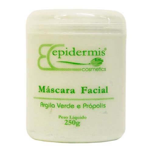 Máscara Facial - Argila Verde E Própolis 250G - Epidermis